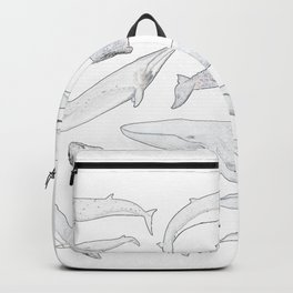 Whales of the world Backpack