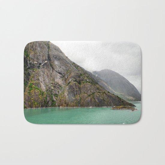Endicott Arm Mountains Bath Mat