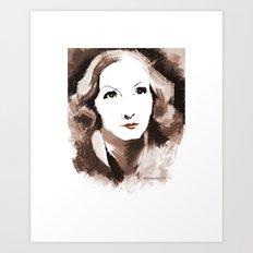 Garbo Art Print