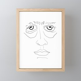 Grouch Framed Mini Art Print