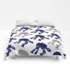 Navy and Gray AT-AT's Comforters