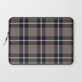 big dark weave monochrome Laptop Sleeve