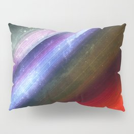 Zenith Sky Streaks: Fantasy and Sci-Fi Art Pillow Sham
