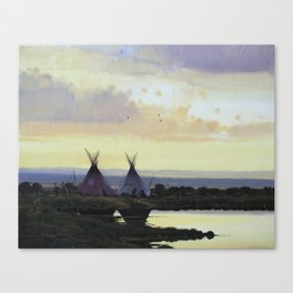 The Salt River Canvas Print