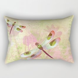 Pretty Dragonflies Rectangular Pillow