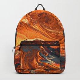 Lava Art Backpack