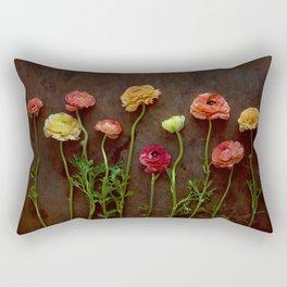 Ranunculus-ly Happy Rectangular Pillow