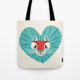 To the Lionhearted! Tote Bag