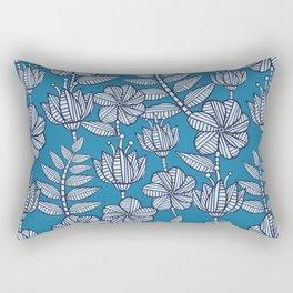Nairobi flowers Rectangular Pillow