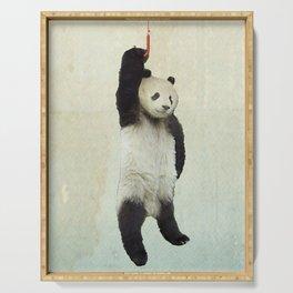 Pandachute Serving Tray