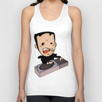 dj Tank Tops featuring DJ by Grime Lab