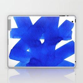 Superwatercolor Blue Laptop & iPad Skin