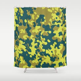 CAMO03 Shower Curtain