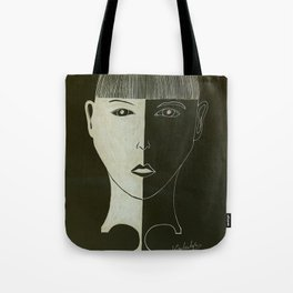 Puzzle of the mad hatter Tote Bag