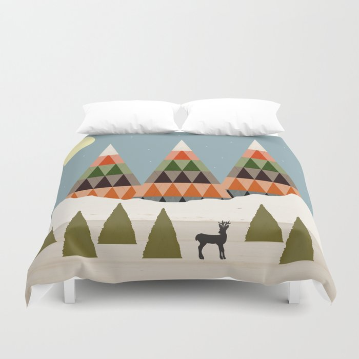 Young Buck Duvet Cover