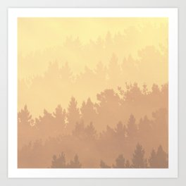 These are trees Art Print