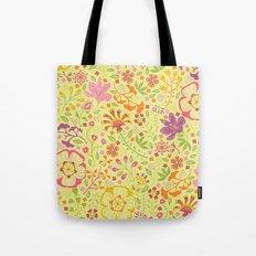 Oriental Blooms Tote Bag