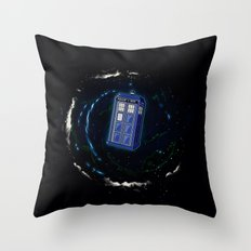 Space and Time and the Universe Throw Pillow