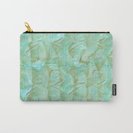 Sea Blue Roses Carry-All Pouch
