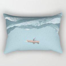 No River Wide Enough Rectangular Pillow