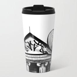 ..not so white.. Travel Mug