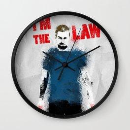 I'm the Law Wall Clock