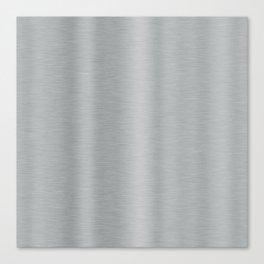 Aluminum Brushed Metal Canvas Print