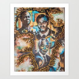 Afrika ndota Art Print