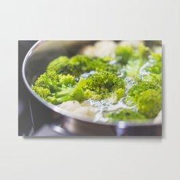 Healthy Dinner Metal Print