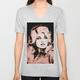 Dolly Parton | Pop Art Unisex V-Neck