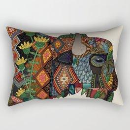 bison bone beige Rectangular Pillow