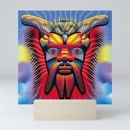 Satyr in the Sky Mini Art Print