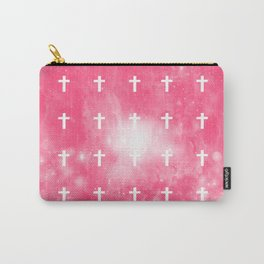 Cross (edit.) pink ver Carry-All Pouch