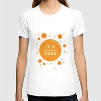 dragonball T-shirts featuring IT'S OVER 9000 (Dragonball) by Jacob Waites