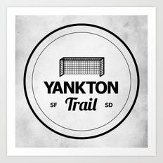 Yankton Trail Art Print