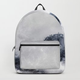 Fog and clouds Backpack