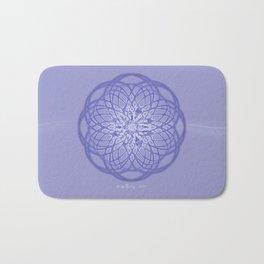 Bluebell Mandala Bath Mat