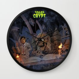 Tales From the Crypt Wall Clock