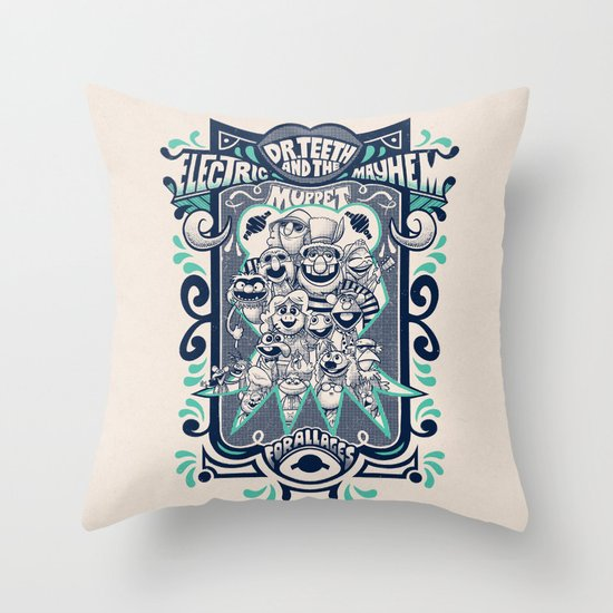 Reunion Tour Throw Pillow