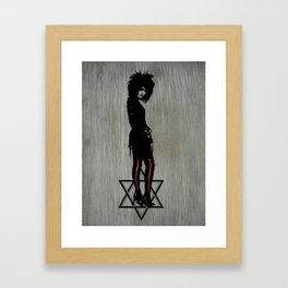 Siouxsie  Framed Art Print