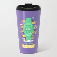 Carpe Diem - Seize the Day [green] Travel Mug