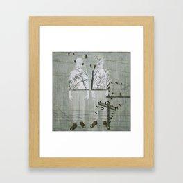 Allegorie pour Natxo Framed Art Print