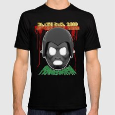 DEATH RACE 2000 - Frankenstein Mask SMALL Black Mens Fitted Tee