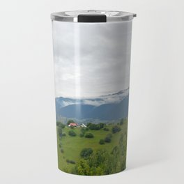 Beautiful Transylvanian mountain landscape Travel Mug
