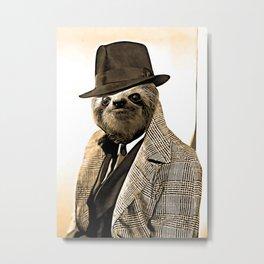 Gentleman Sloth 9# Metal Print