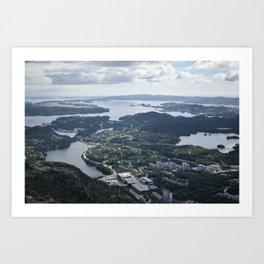 Haakonsvern Art Print