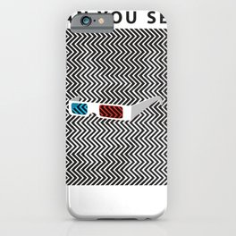 Can you see it? A 3d optical experience iPhone Case