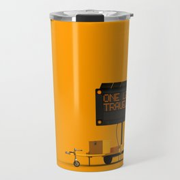 One Less Traveled Travel Mug