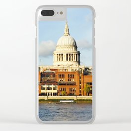St. Paul's cathedral Clear iPhone Case