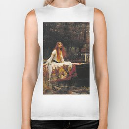 John William Waterhouse - The lady of shalott Biker Tank